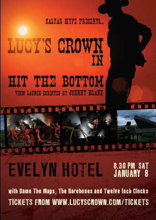 Hit The Bottom film clip launch - Buy tickets NOW